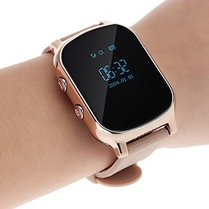 GPS-часы Smart Baby Watch T58 (GW700) на руке